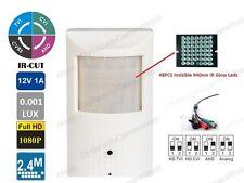 2.4MP 1080p Low Illumination Security Alarm CCTV PIR Motion Detector Spy Camera