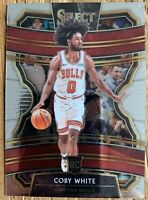 2019-20 Panini Select Concourse Coby White #48 RC Rookie