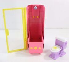 Dora The Explorer Bathroom Dollhouse Furniture Shower Bathtub  toilet Toys