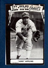 TCMA All-Time Greats Postcard: LUKE APPLING, White Sox / HOF'er / Type 2~mc