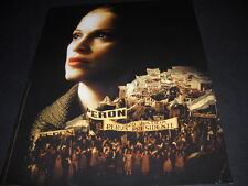MADONNA as Eva Peron in Evita original 1996 PROMO DISPLAY AD in mint condition