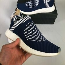 Adidas Originals NMD CS2 PK Primeknit City Sock 2 Navy Ronin Gum Sole - US 10