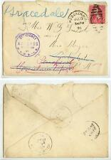1896 Hoboken New Jersey to Mountain Top and Graceland Pennsylvania DPOs