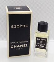 VTG Mini Eau Toilette ✿ CHANEL EGOISTE ✿ Perfume Parfum ~ (4ml. = 0.13 fl.oz)