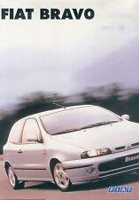 Fiat Bravo Prospekt 9/95 8 S. sales brochure 1995 Auto PKW Broschüre Italien