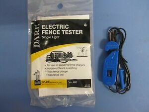 Electric Fence Tester  Dare Single Light   #460   NEW