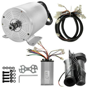 48V 1800W Electric Brushless Controller motor Throttle Grip Wire Kit f ATV