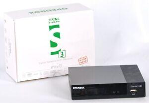 Openbox S3 Mini-II Neu 2019  Sat Receiver  Vorprogrammiert, Multistream, IPTV!!!