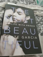 *Prince Mayte Signed Book The Most Beautiful  Symbol Ultra Rare NPG Collectors*