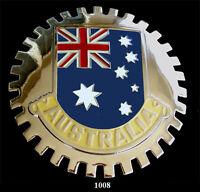 CAR GRILLE EMBLEM BADGES - AUSTRALIA(FLAG)