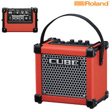 Roland Micro Cube GXR Battery Powered Guitar Amplifier Red l Authorized Dealer