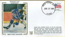 1994 NEW YORK Rangers STANLEY CUP Champions MARK MESSIER Silk CACHET First Day