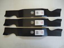"3 New Heavy Duty Blades for Cub Cadet 50"" RZT50 742-04053 954-04053 942-04053C"