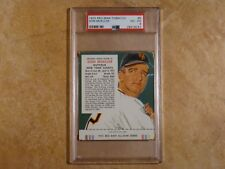 DON MUELLER (2X-A/S/1954WS) 1955 RED MAN TOBACCO PSA 4 (VG/EX) #8 NY GIANTS