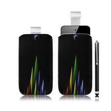 coque étui pochette pour Apple iPod Touch 4G avec motif LM02 + stylet luxe
