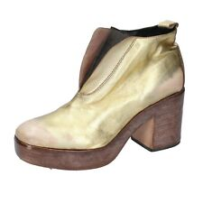 women's shoes MOMA 7 (EU 37) ankle boots gold leather BP892-37