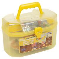 127 Piece Children's Arts & Craft Set Case Carry Handle Girls Boys Gift Xmas NEW