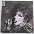 """33T Barbra STREISAND Disque Vinyle LP 12"""" WHAT ABOUT TODAY ? - CBS S 63697 Rare"""