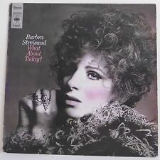 "33T Barbra STREISAND Disque Vinyle LP 12"" WHAT ABOUT TODAY ? - CBS S 63697 Rare"