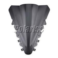 Black Motorcycle Windshield Windscreen For Yamaha YZF R15 2014 2015 2016