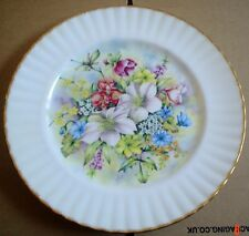 Royal Vale Large Collectors Plate FLOWERS OF THE SEASON - WINTER