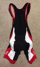 Gore Bike wear Men's Cycling Biking bibs Size XL black- ***See Dims***