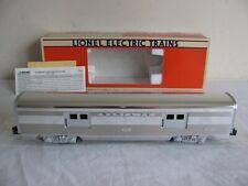 Lionel Trains Santa Fe Aluminum Baggage 3400 Passenger Car #6-19109 EX