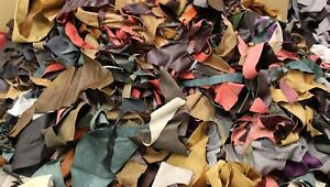 Bag Of 1kg Mixed Quality Scrap Leather Crafts & Arts ,Off Cuts,Remnants,Pieces