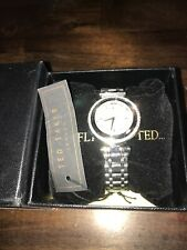 NEW Ted Baker London TE50521002 Women's Stainless Steel 360 Rotating Dial Wh12