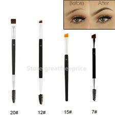 Professional Beverly Hills Eyebrow and Eyeliner Shaping Duo Makeup Brush Tools