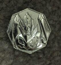Pokemon Metal Collection XY&Z Zygarde Complete Forme Silver Coin Gashapon
