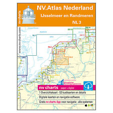 NV Atlas, Satz NL 3 - Niederlande Ijsselmeer Kombipack # Sportbootkarten PC App