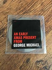 ❣RARE❣PROMO SAMPLER CD•An Early Xmas Present~George Michael (Wham!) STONEWALL 99