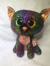 TY Beanie Boos SPELLBOUND 9in Halloween Cat Claire's Exclusive