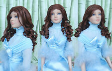 "Zhang_young wig for Tonner 22""Tonner American Model doll(1-22wig-3)"
