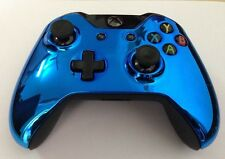 New Xbox One Dark BLUE CHROME Replacement Controller housing Shell - Top Shell