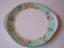 Minton Haddon Grove Handled Cake Plate Made in England Bone China Tab Handles