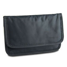 Travelon Safe ID (RFID Blocking) Nylon Boarding Pouch-Off Black, (Style #12601)