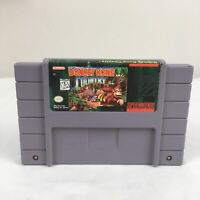 Donkey Kong Country Super Nintendo SNES Game Tested & Working Authentic