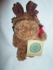 "Mendel Moose 8"" Jointed Boyd's Plush Soft Toy Stuffed Animal"