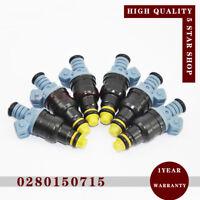 6pcs 0280150715 Fuel Injector Nozzle for BMW 3 E30 E36 5 E34 8 E31 7 E32 E38 Z1