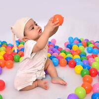100pcs Colorful Ball Soft Plastic Ocean Ball Funny Baby Kids Swim Pit Tent Toy