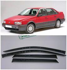 For VW Passat B3/B4 1988-1997 Side Window Visors Sun Rain Guard Vent Deflectors