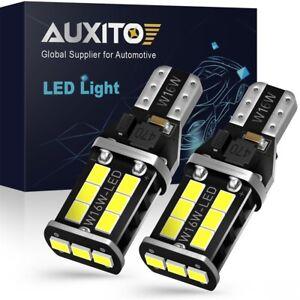 2X T15 W16W 921 912 Canbus 15-SMD LED Back Up Reverse Light 6000K 2400LM AU