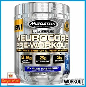 MuscleTech NeuroCore Pro Series Pre Workout Explosive Energy 50 SERV EU FORMULA