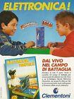 X2659 CLEMENTONI - Battaglia navale elettronica - Pubblicità 1993 - Advertising