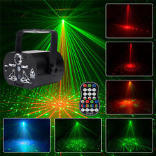 60 Patterns Projector Led Rgb Laser Stage Light Dj Disco Ktv Home Party Lighting