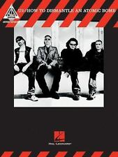 U2 How to Dismantle an Atomic Bomb Songbook Sheet Music