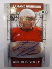 2011 SAGE HIT Armand Robinson Pittsburgh Steelers Miami (OH) - Auto RED