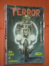 FUMETTO HORROR -TERROR PICCOLI- doppi - N° 143 - ANNO 1981  edizioni erregi-rg